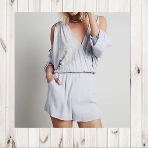 "Free People ""Love is All Around Romper"""